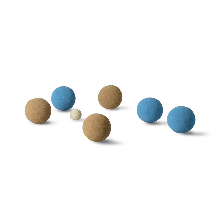 BCB-03 BOCCE BALL IN BAG (WEIGHT 220+/-10G./BALL)