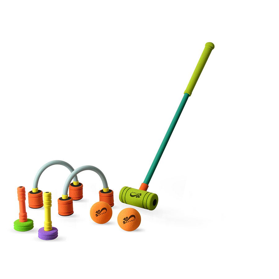 MCQL-27 MULTI PLAYER CROQUET SET IN BAG 27INCH