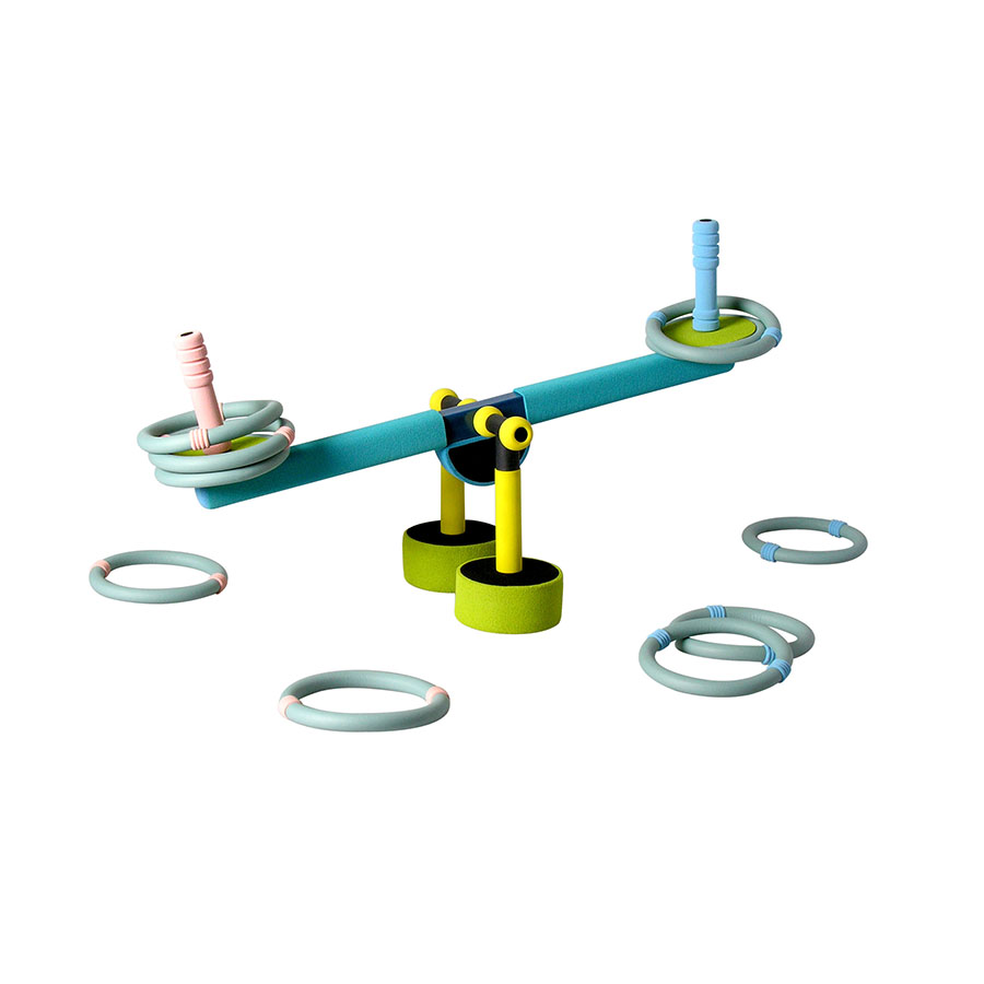 RS-06A SEE-SAW RING TOSS