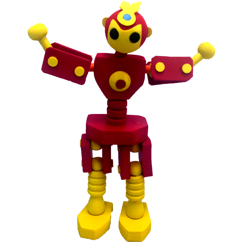 RUB-01 Rubbot(Red Fighter)