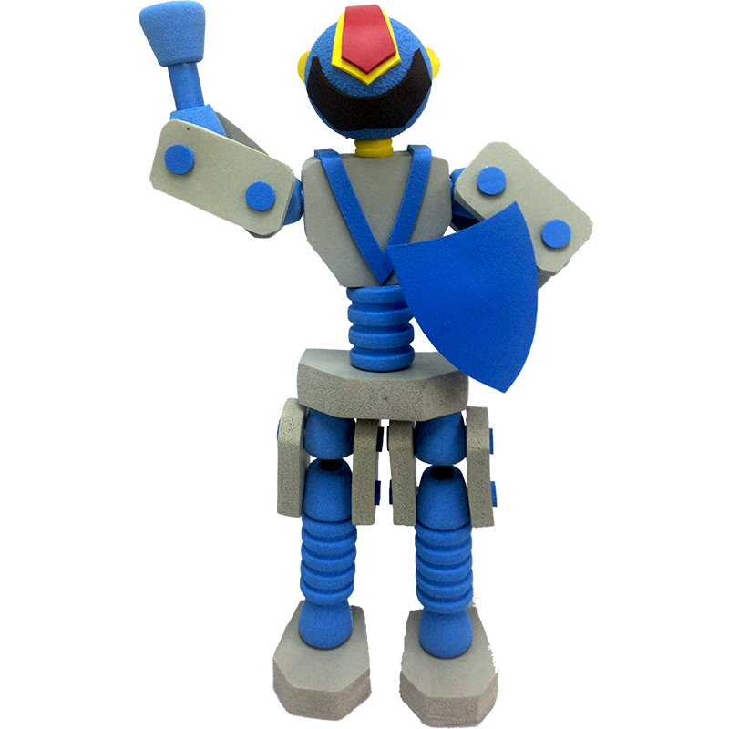 RUB-02 Rubbot(Blue Knight)