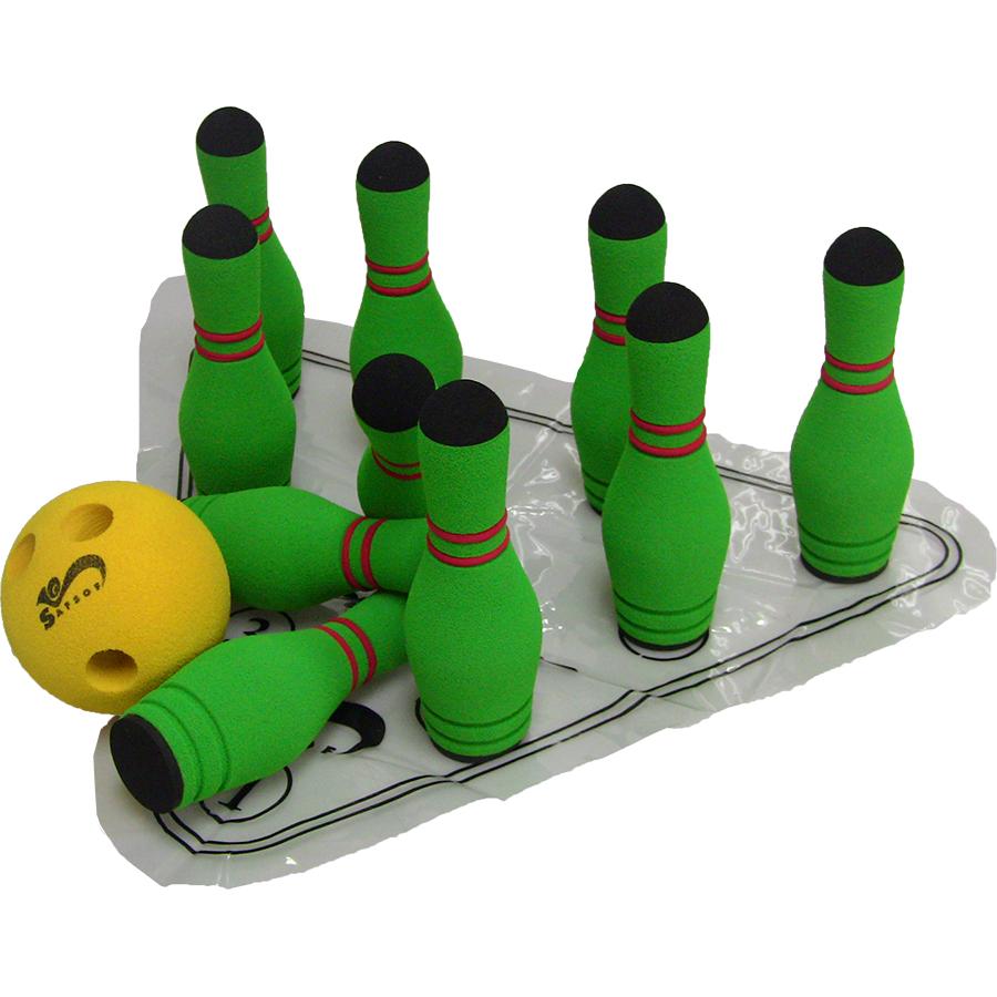 Bowling: MBB-06 MINI BOWLING SET IN BAG(10 Pins)
